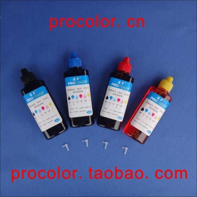 PROCOLOR T27# CISS ink Refill Dye ink special for EPSON WorkFore WF-3620DWF WF-3620 WF3620/WF-3621DWF/WF-3640DTWF WF-3640 WF3640