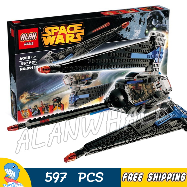 597pcs New Space Wars Tracker I Starship 05112 Model Building Blocks Assemble Boys Toys Movie Games Bricks Compatible With Lego 957pcs space wars jedi defender class cruiser universe starship 05085 model building block toy bricks games compatible with lego
