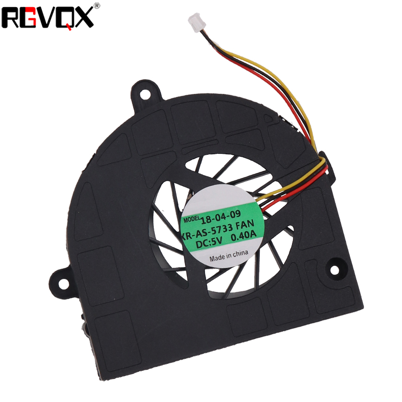 Купить с кэшбэком New Laptop Cooling Fan For ASUS K53 K53U K53B K53BY K53T K53U A53U K43T  PN AB07605MX12B300 GC057514VH-A CPU Cooler Radiator