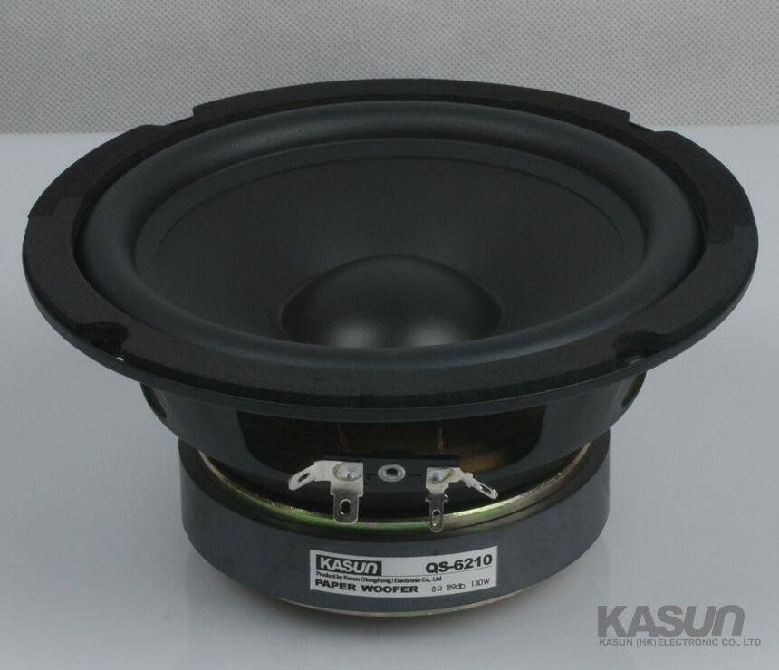US $36 82 5% OFF 1pcs HI FI series woofer loudspeaker paper woofer Speaker  QS 6210 speakers 6 5 inch bass speaker 130W 8 ohm for HIFI amplifier-in