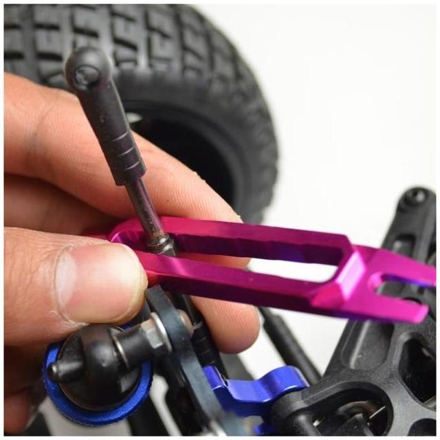 Kugelgelenk Werkzeuge CNC RC Aluminium Ball Ende Entferner 4 4,8 5 5,8mm für RC Fernbedienung Auto Ersatzteile teile Werkzeuge