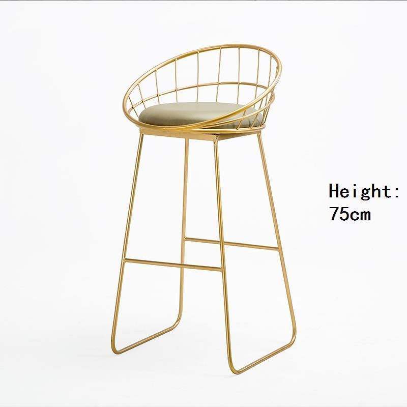 Купить с кэшбэком Para Stuhl Sedie Table Stoelen Taburete La Barra Banqueta Todos Tipos Stoel Tabouret De Moderne Cadeira Stool Modern Bar Chair