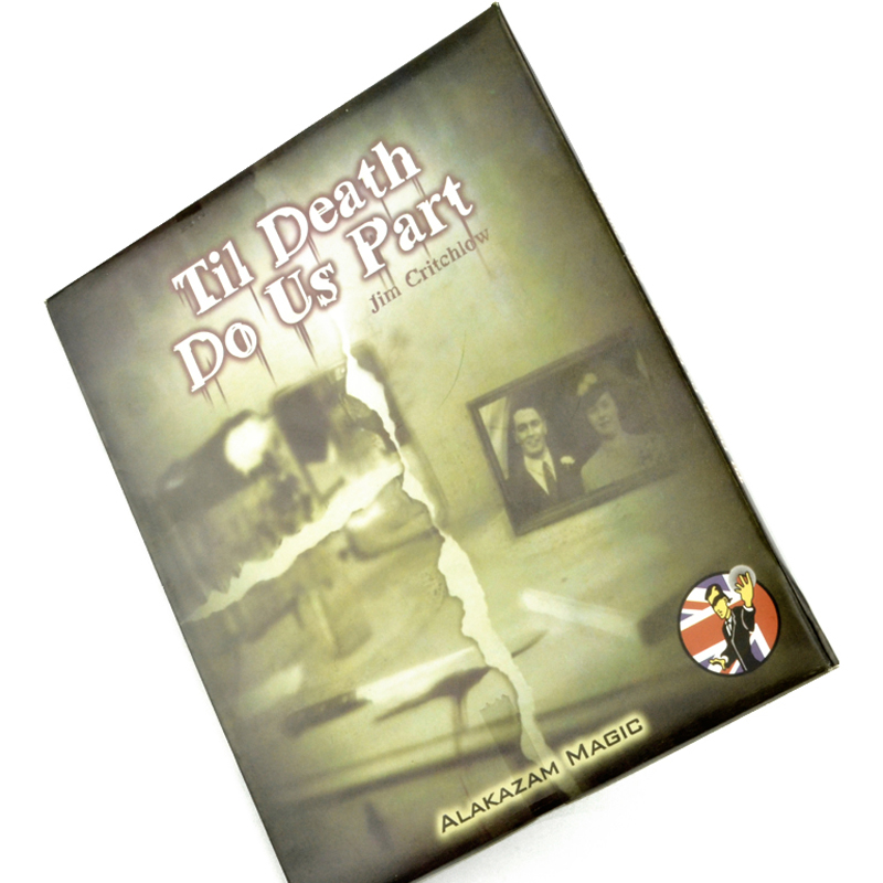 Til Death Do Us Part Close up Street Magic Tricks Toys Free Shipping Small Wholesale close-up