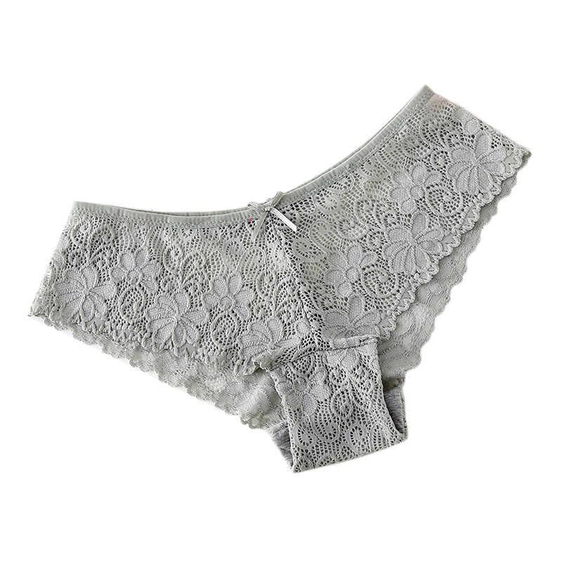 ใหม่ผู้หญิงแฟชั่นเซ็กซี่กางเกงลูกไม้ T-Back ชุดชั้นใน Breathable กางเกงในสุภาพสตรีหญิงกางเกงยีนส์ VN 68