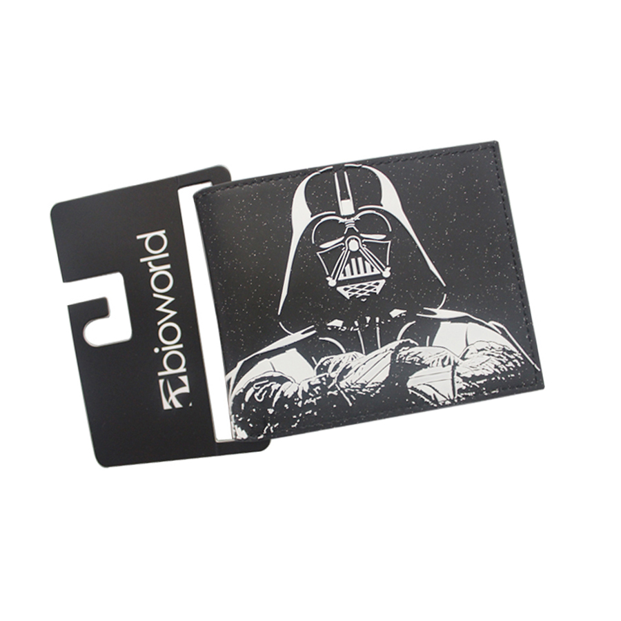 3D STAR WARS Movie Men Wallets Money Pouch For Boys Girl Billeteras Leather Purse Short Slim Prints ID Card bolso Bifold Student dc movie hero bat man anime men wallets dollar price short feminino coin purse money photo balsos card holder for boy girl gift