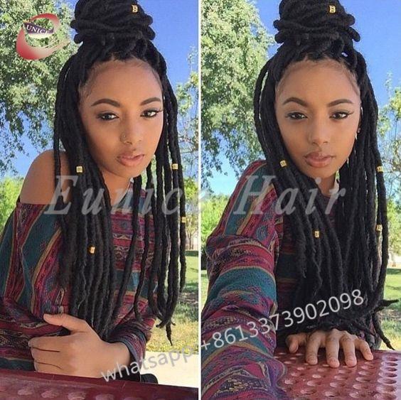 Full Colour Crochet Braids Locs Best Straight Hair Extensions24