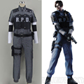 Resident Evil 4 Leon Scott Kennedy RPD Uniform Cosplay Costume