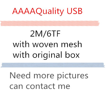 50pcs/lot 2M AAAA Quality USB Data Sync Charger Cable For ipad Air iPhone 7 6s 6 plus 5s IOS11 with retail box