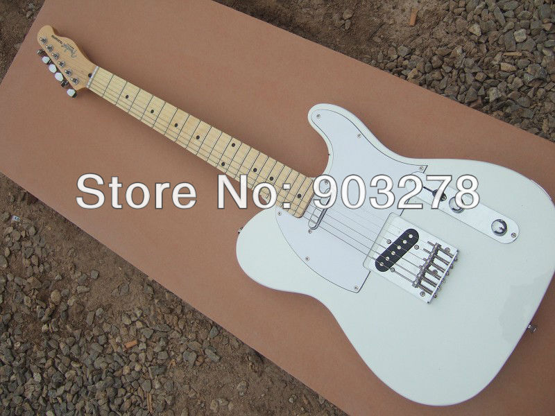 Custom Shop, Customizeed Guitar  White LP Electric Guitar T27