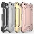 Para iphone 6 cubierta case metálico a prueba de golpes cubierta de aluminio del metal para el iphone 6 s plus cajas metálicas marco de la cáscara protectora del teléfono