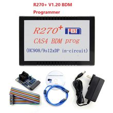 R270 BMD R270 + V1.20 CAS4 BDM Programador para BMW Carro De Diagnóstico Profissional para bmw chave prog R 270 Auto chave