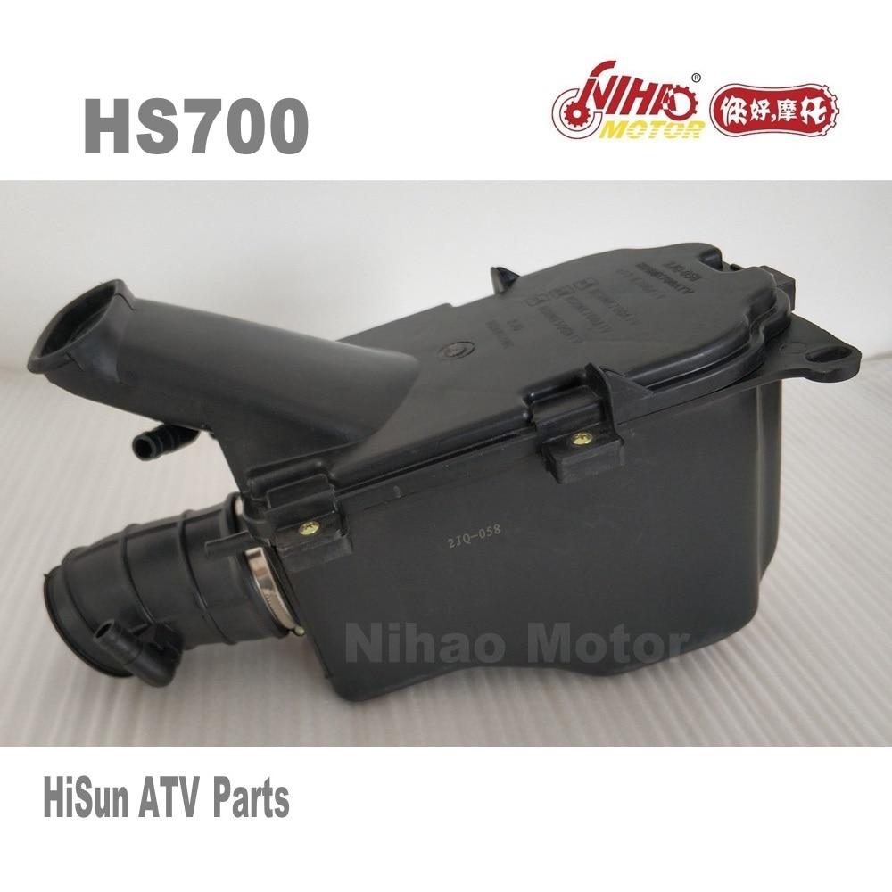 92 HISUN ATV pièces filtre à Air Assy HS400 HS500 HS600 HS700 HS800 ATV UTV Quad moteur Forge Tactic Coleman cub cadet NIHAO