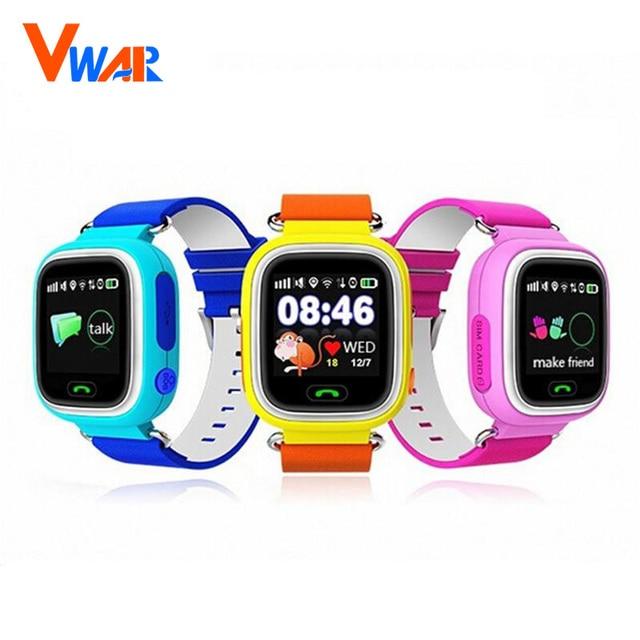 GPS Q90 Сенсорный Экран WIFI Позиционирования Smart Watch Детей SOS Вызова Расположение Finder Устройства Трекер Малыш Сейф Анти Потерянный Монитор