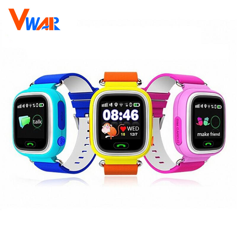 GPS Q90 Touch Screen WIFI Positioning Smart Watch Children SOS Call Location Finder Device Tracker Kid