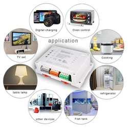 Свет Управление Wi-Fi Smart remote control Switch 4 канала дом помощник Управление дома Приспособления устройства