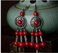 Brinco eardrop para mulheres 2016 nova DIY pedra retro jóias étnicas especial acessórios de design brincos pendurados D078