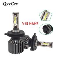 QvvCev Auto Lamp LED H4 Fog Lights CSP H7 Led Car Headlight HB2 Bulb Hi Lo