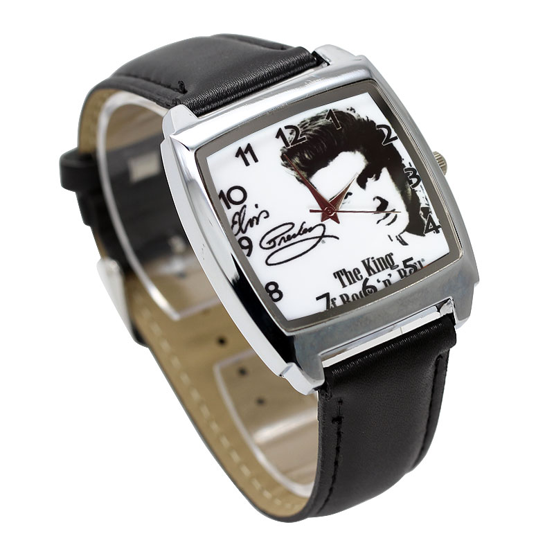 2019 New 3D Cartoon Cat King Quartz Leather Clock Unique Large Dial Boy Movement Clock Pink Girl Fashion Bracelet
