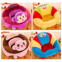 Baby Learning Sofa Plush Baby Safe Chair Cartoon Learning Seat Anti rollover Baby Safety Seat Child Living Room Sofa Seat 0~24 M