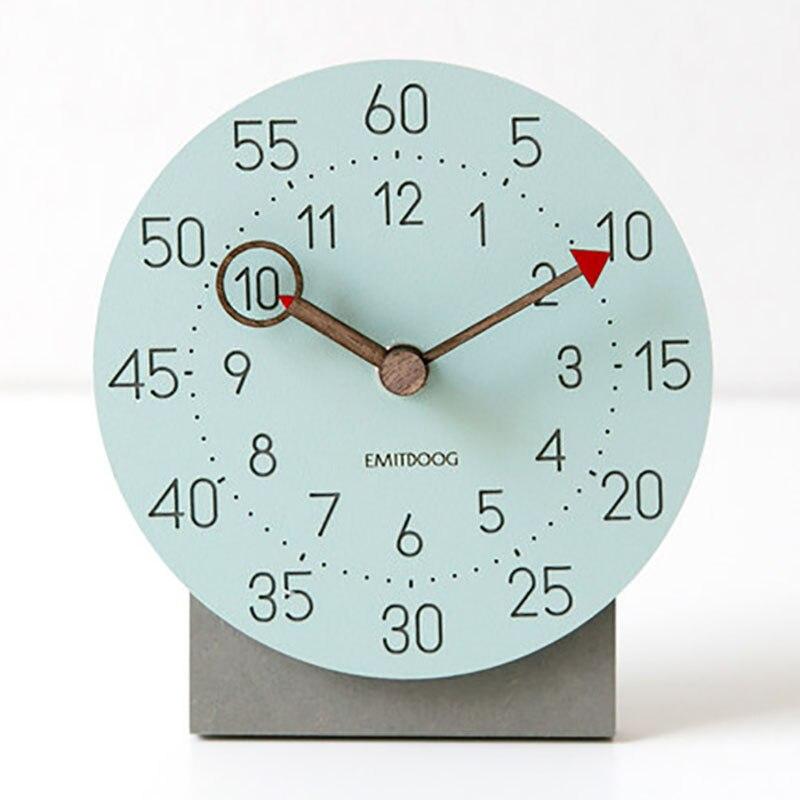 Настольные Цифровые маленькие деревянные часы маятник электронные настольные или настенные часы домашний декор офисное украшение masa saati домашний декор