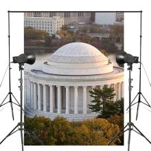 150x210cm Greek architecture Jefferson Memorial Photography Background Studio Props Wall Backdrop Theme