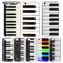 MaiYaCa High Quality Phone Accessories Cover The Piano Keyboard Design For IPhone 5 5s SE Case