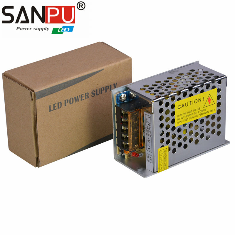 SANPU SMPS LED Power Supply 15W 12V 1.25A AC DC 220V 12V Switching ...