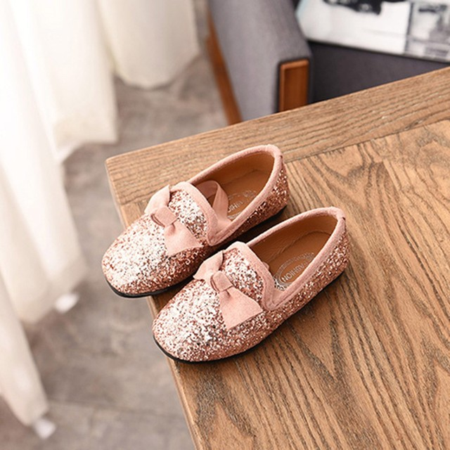 Kids Shoes Children Kid Baby Girls Bowknot Crystal Bling Single Princess Party Dance Shoes Baby Shoes Fashion zheng140 2