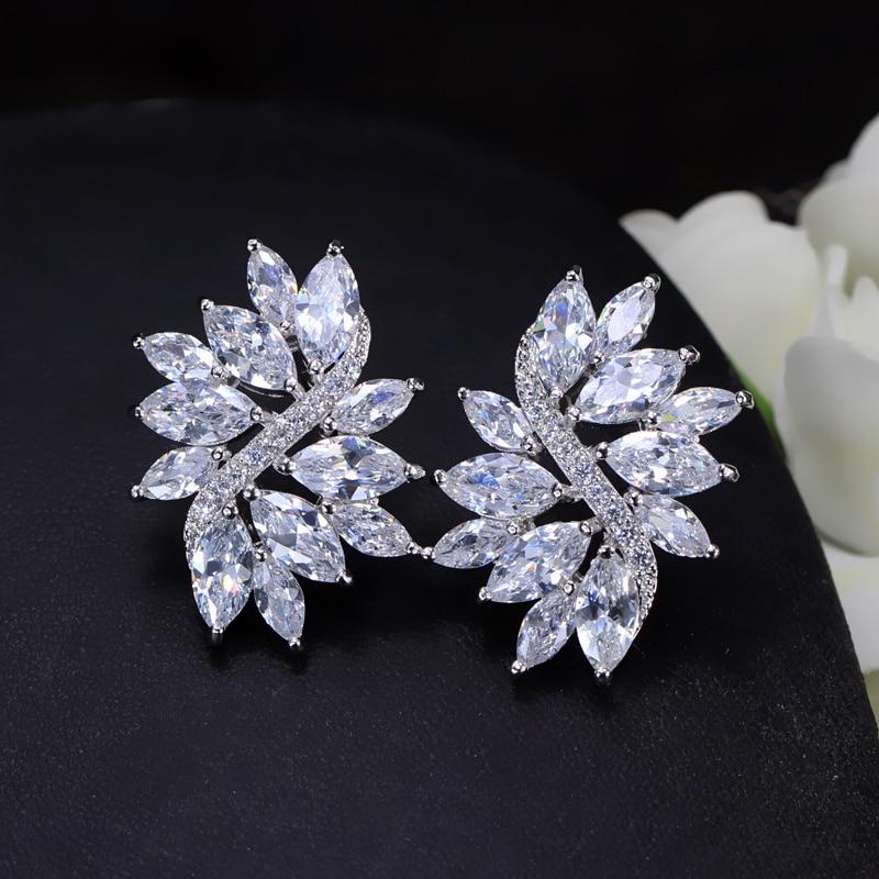 CWWZircons 2018 Новий Модний сріблястий - Модні прикраси - фото 3