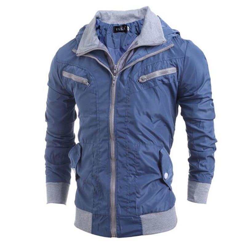 The new 2016 men cotton-padded jacket The fashion leisure cotton-padded jacket for men Add hair thickening warm cotton coat