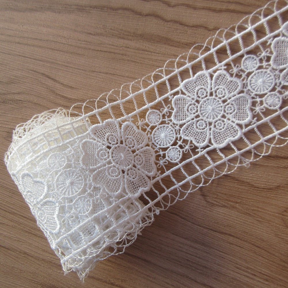 2 Metres Crochet Edge Ribbon