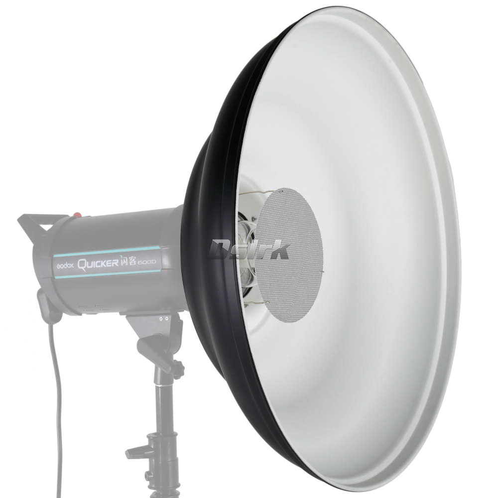 ASHANKS 41cm Waved Beauty Dish Reflector with Honeycomb Soft Cloth Two Mini Reflectors for Bowens Mount Strobe Flash Light with fotopal flash diffuser 40 100cm foldable portable folding beauty dish silver softbox with bowens mount reflectors photography
