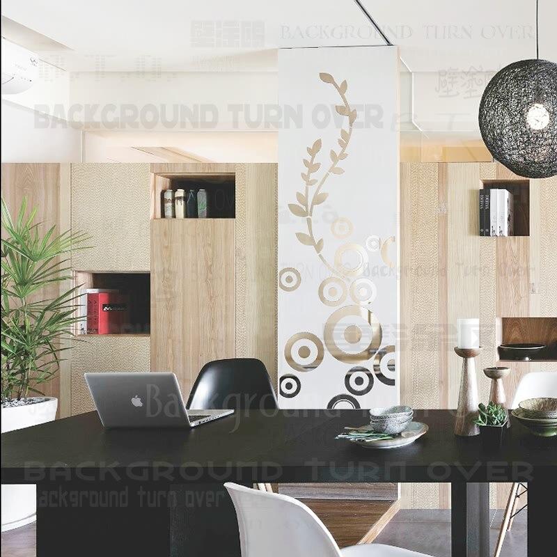 Настенные часы/современные 3D DIY цифры зеркальная поверхность настенные часы Наклейка домашний офис комната DIY Декор/наклейка s, современный,... - 5