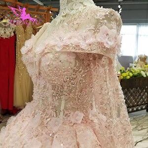 Image 5 - AIJINGYU חתונה אופנה נסיכת שמלות שתי חתיכה לבן בתוספת גודל סרבל מעצב רומנטי מלאך שמלת רומנטי חתונה שמלה