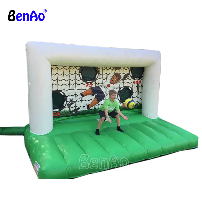 S380 BENAO Free shipping The most popular inflatable air soccer/table football , inflatable sports games/Soccer inflatables free shipping 2016 newly inflatable soccer carnival sport games for children
