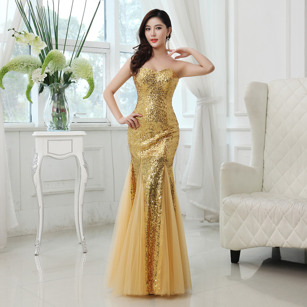 sexy gold plus size formal dresses page 1 - formal dresses