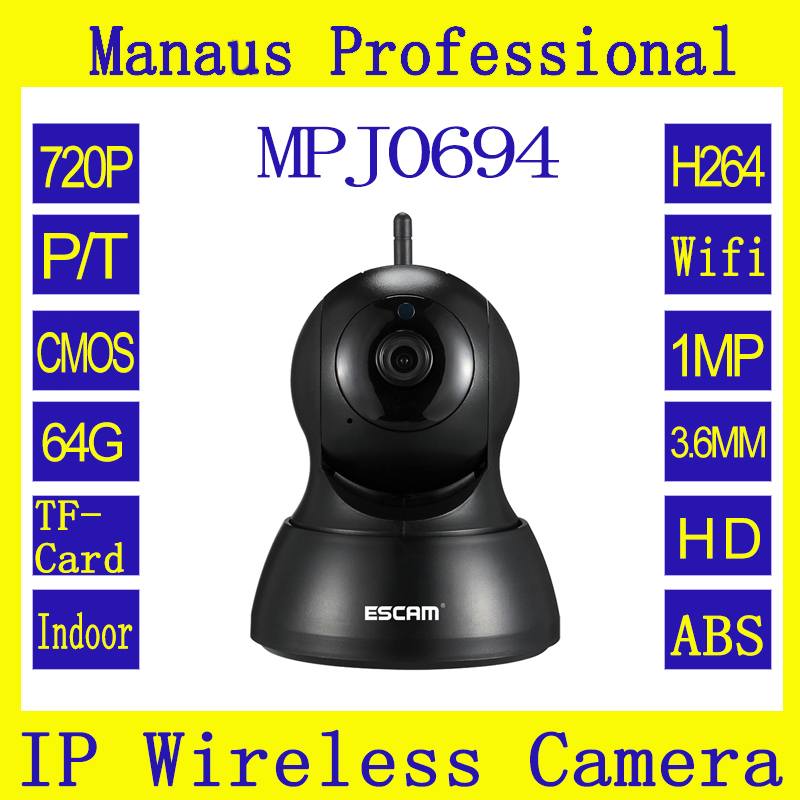 все цены на High Quality 720P WIFI IP Camera Support 64G TF Card 24-hours Loop Recording CCTV Camera Support email Alarm and APP Push J0694 онлайн