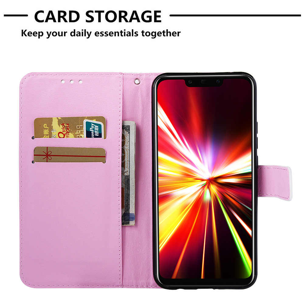Cases Covers For Huawei Honor Play 8A Hound Wallet Flip Case sFor Huawei funda Mate 20 Lite Honor 10 P Smart 2019 8A Y6 Capinha