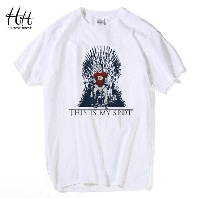 HanHent The Big Bang Theory T-shirt Dieses Ist Mein Aufmerksamkeitspiele Of  Thrones Männer Shirts