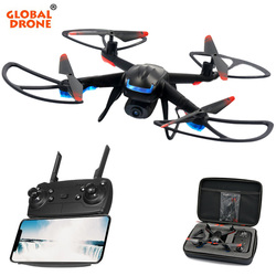 Global Drone GW007-3 RC Dron with HD Camera Live Video Drone Whole Set High Hold RC Helicopter FPV Quadcopter Dones with Camera