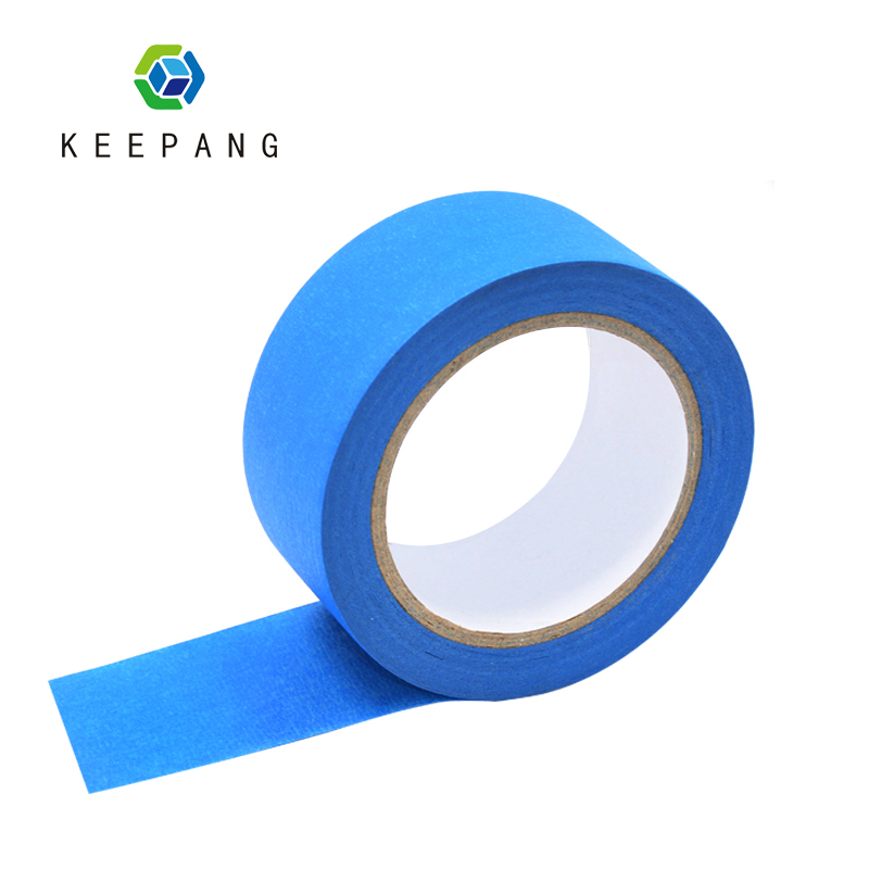 Kee Pang 1 Roll 3D Printer Masking Tape Paper High Temperature Polyimide Adhesive Tape Blue Masking Tape Width 48mm Length 30m 205mm width blue masking tape high temperature resistance masking tape for 3d printer makerbot thickness 0 13mm
