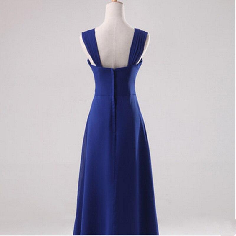 2015 Cheap Long Royal Blue Bridesmaid Dresses Plus Size Under 50 ...