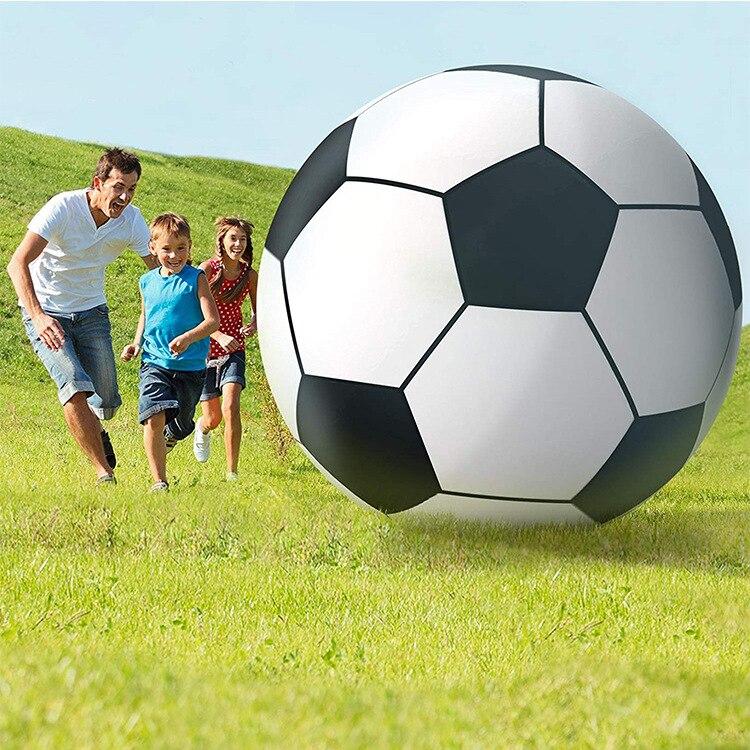 60/80/100/130/150 см надувной пляжный мяч гигантский Футбол футбольный мяч для детей и взрослых Спорт на открытом воздухе, игрушки для мужские и женские Плавание игрушки для бассейна