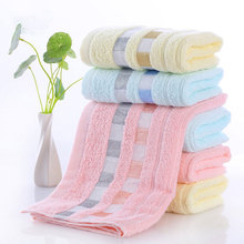 100% Cotton soft Face towel absorbent household Travel Gym quick drying beach baby bathroom bath washcloth Handkerchief towel towel baby bath towel vomit milk cotton gauze baby diapers soft and absorbent household multicolor differential use 50 68cm