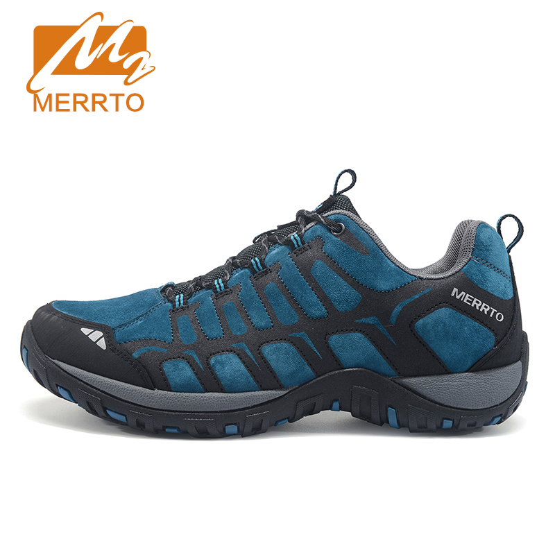ФОТО 2016 MERRTO Men Women Breathable Hiking Shoes For Men Outdoor Mens Walking Shoes For Women Trekking Camping Shoes Winter Boots