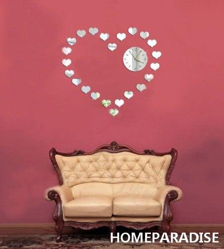 Aliexpress.com : Buy Silver Small Love Hearts Combines a Big Love ...