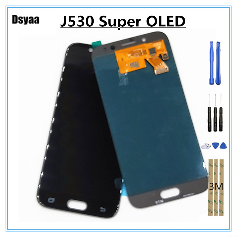 LCD for SAMSUNG for Galaxy J5 2017 J530 J530F Display Touch Screen Digitizer Assembly Replacement 100% TestedLCD for SAMSUNG for Galaxy J5 2017 J530 J530F Display Touch Screen Digitizer Assembly Replacement 100% Tested