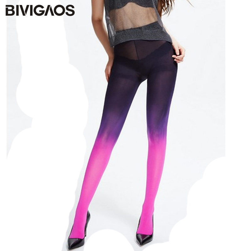 New 120D Velvet Japanese Kawaii Mujer Ombre Tights Sexy