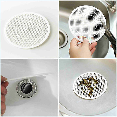 bathroom sink drain screen 1pcs plastic bathroom floor drain filter screen hair 16482