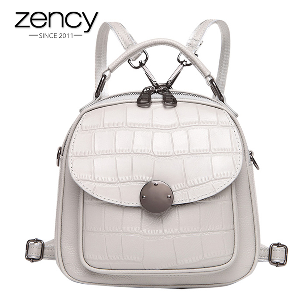 Zency Stone Pattern 100% Natural Leather Pretty Women Backpack Girls Schoolbags Casual Travel Bags Charm Pink Knapsack SatchelZency Stone Pattern 100% Natural Leather Pretty Women Backpack Girls Schoolbags Casual Travel Bags Charm Pink Knapsack Satchel